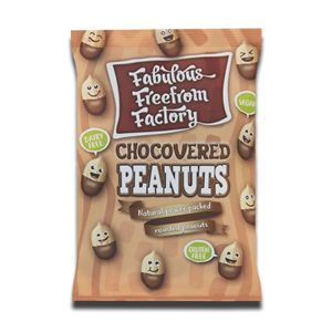 Fabulous Free From Factory Peanuts Chocovered 65g