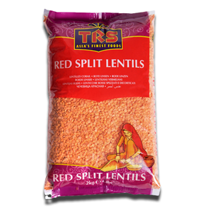 TRS Red Lentils - Lentilhas Vermelhas 2 Kg