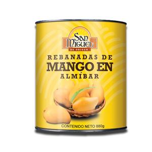San Miguel Mango Halves in Syrup 800g