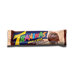 Trakinas Chocolate Branco & Preto 126g