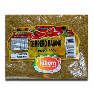 Aroma D'Minas Têmpero Baiano 100g