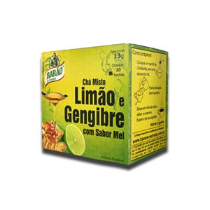 Barão Chá Limão e Gengibre 10x13g