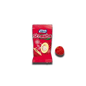 Vidal Strawberry Flavor Chewing Gum 4.5g