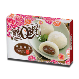 Taiwan Dessert Mochi Red Bean 210g