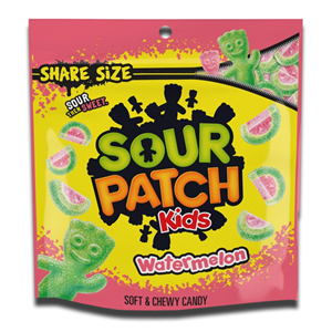 Sour Patch Kids Watermelon Soft & Chewy Candy 340g