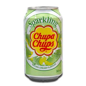 Chupa Chups Sparkling Melon Cream 345ml