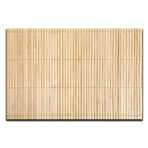 Esteira de bambu 24x24cm