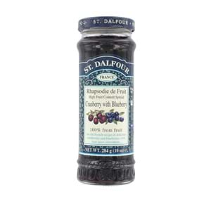 St. Dalfour Cranberry With Blueberry 284g