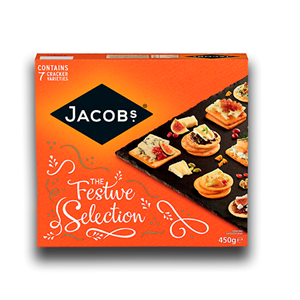 Jacob's Biscuit Selection Carton 450g