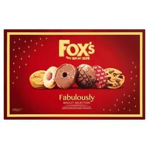 Fox's Fabulously Biscuit Selection 550