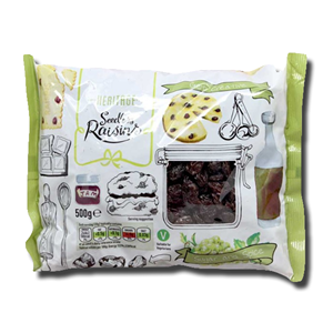 Heritage Seedless Raisins 500g