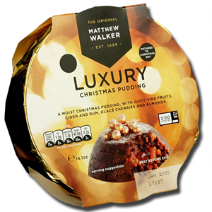 Matthew Walker Christmas Luxury Pudding 800g