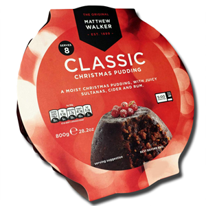 Matthew Walker Christmas Classic Pudding 800g