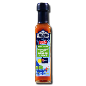 Encona West Indian Smooth Papaya Hot Pepper Sauce142ml