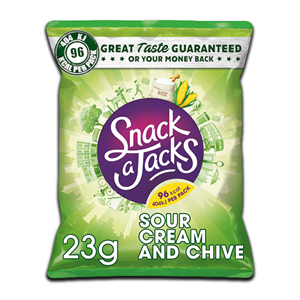 Snack A Jack Sour Cream & Chives 23g