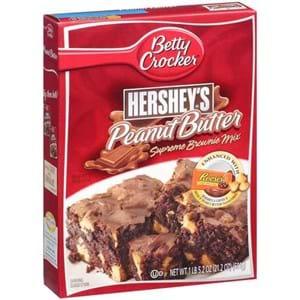 Betty Crocker Hershey's Peanut Butter Brownie Mix 488g