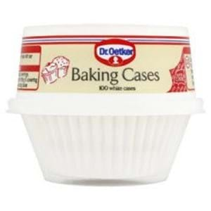 Dr Oetker White Baking Cases 100s