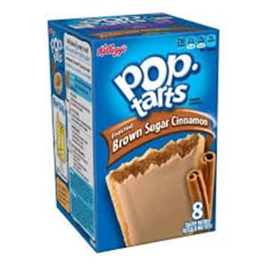 Kellogg's Pop Tarts Frosted Brown Sugar Cinnamon 8's 416g
