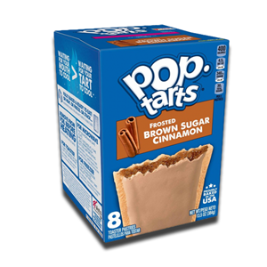 Kellogg's Pop Tarts Frosted Brown Sugar Cinnamon 8's 416g