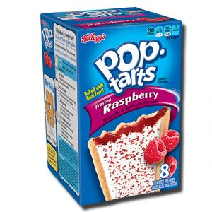 Kellogg's Pop Tarts Frosted Raspberry 8's 400g