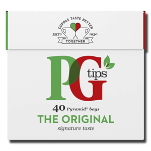 PG Tips Tea English Black 40's