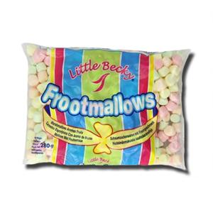 Little Becky Marshmallows Mini Coloured 280g