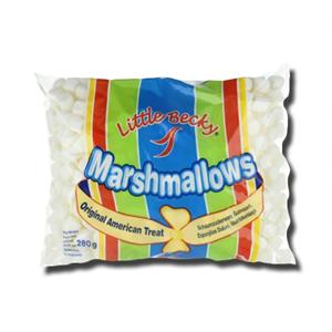 Little Becky Marshmallows Mini White 280g