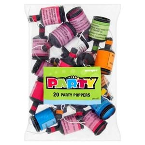 Party Poppers 20