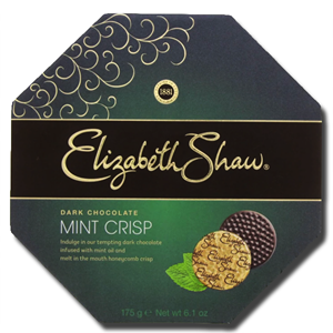 Elizabeth Shaw Mint Crisp Dark Chocolate 175g