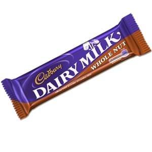 Cadbury Dairy Milk WholeNut 45g