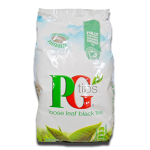 PG Tips Tea English Black Loose 1.5Kg