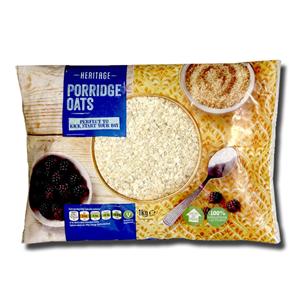 Heritage Porridge Oats 1Kg