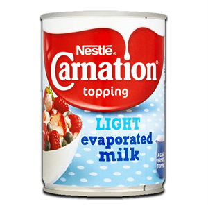 Nestlé Carnation Evaporated Light Milk 410g