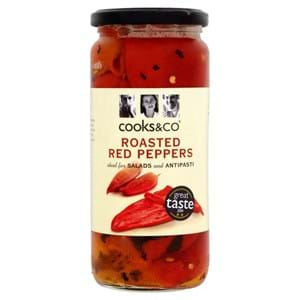 Cooks & Co Red Peppers 460g