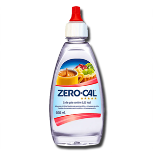 Zero-Cal Adoçante Liquido 100ml