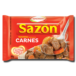 Sazon Tempero Carnes - Vermelho 60g