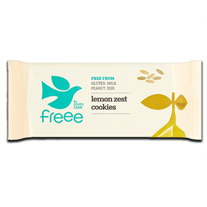Doves Farm Gluten Free Cookies Lemon 150g
