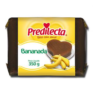 Predilecta Bananada Bloco 350g