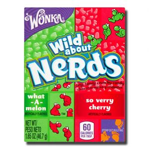 Wonka Nerds Cherry & Watermelon 46g