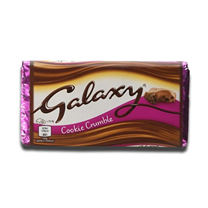 Galaxy Cookie Crumble 119g