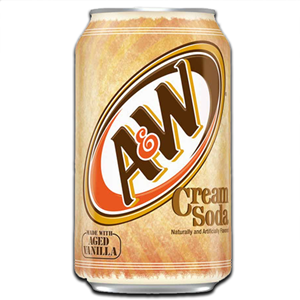 A&W Cream Soda 350ml