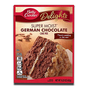 Betty Crocker Super Moist German Chocolate Cake 432g