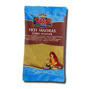 TRS Madras Curry Hot - Caril Pó Picante 100g
