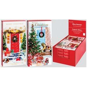 Simon Elvin Christmas Cards 14's