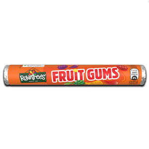Rowntrees Fruit Gum Tube 48g