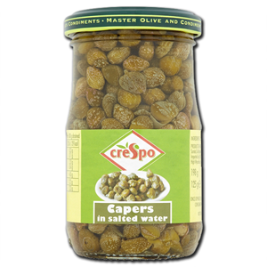 Crespo Capers in Salted Water 198g