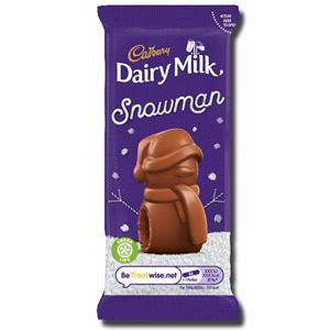 Cadbury Mousse Snowman Chocolate 30g