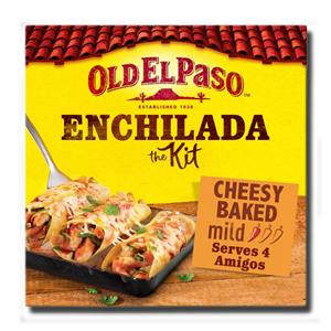 Old El Paso Enchiladas Cheesy Baked kit 663g