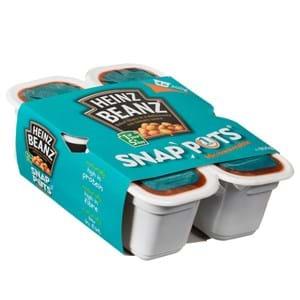Heinz Beanz Snap Pot 4x200g