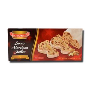 Kuchen Meister Luxury Marzipan Christmas Stollen 500g